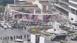 Polícia reprime manifestação de ex-trabalhadores da Casa de Segurança do PR