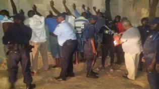 Polícia Nacional fez 182 detenções durante o fim de semana em Luanda