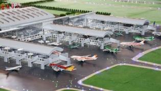 Presidente aprova gabinete para abertura do novo aeroporto internacional