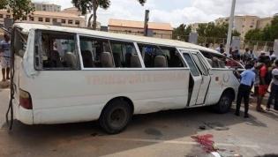 Um morto e oito feridos no acidente do Kilamba - testemunhas