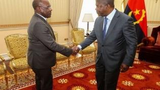 Chefe estado do angolano recebe enviado especial de Joseph Kabila