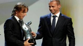 Cristiano Ronaldo perde prémio de melhor do ano para Luka Modric